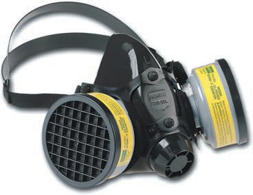 Series Silicone Half Mask Respirator - Honeywell 770030L North 7700 Series Half Mask Facepiece, Large, Black Silicone