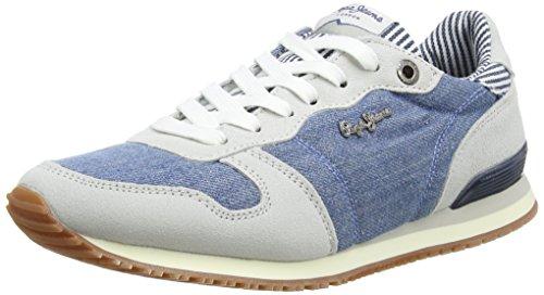 Pepe Jeans London Gable Straps - Zapatillas Mujer Denim / Gris