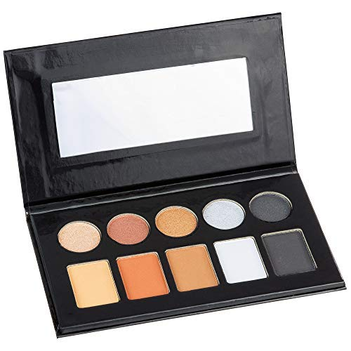 Expressions by Almar – Style Essentials Women's Cosmetics METAL & MATTE Eyeshadow Collection – 10 Color Palette