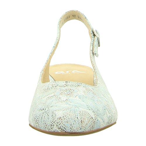 ara Shoes Paris Damen Sling-Pumps Aqua