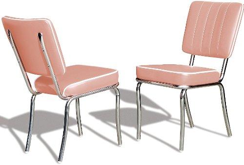 Stühleyellow Bürostühle Diner Esszimmerstuhl Er 2 Dinerstuhl Küchenstuhl Stuhl 50er Set Jahre kuPOZXi