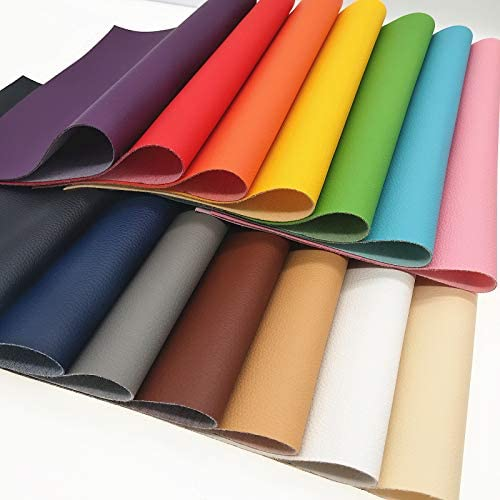 A4\uff088*12\u201c\uff09Colorful litchi Softy faux leather fabric sheets,circut leather sheet-printed faux leather sheet synthetic leather for DIY earring