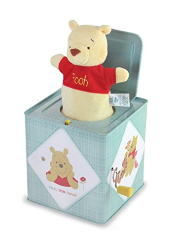 "Kids Preferred Disney Baby Winnie the Pooh Jack-in-the-Box, 6.5"" from Kids Preferred"