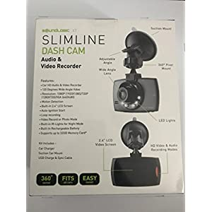 Slimline Dash Cam Audio & Video Recorder