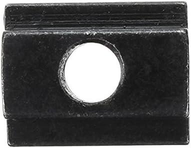 ossido nero finitura t-slots dado per T Track 10PCS M6/T fessura dadi dadi M6/T slot