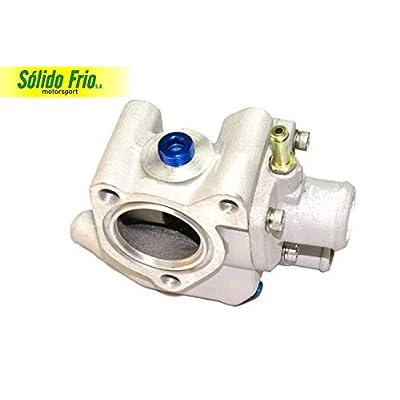 Cast Aluminum Thermostat Housing compatible w/Zetec Ford Focus Escort Contour Escape Cougar ZX2 SVT 95-04: Automotive