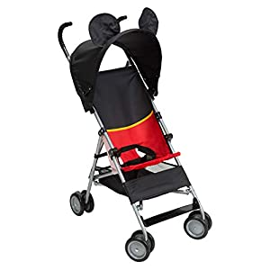 4131YjGETLL. SS300  - Disney Baby Mickey Mouse Umbrella Stroller with Basket