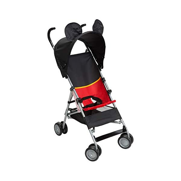 4131YjGETLL. SS600  - Disney Baby Mickey Mouse Umbrella Stroller with Basket