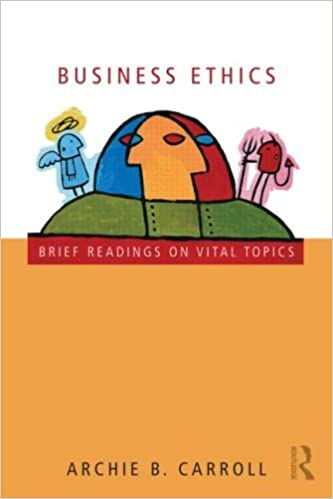 Book Business Ethics: Brief Readings on Vital Topics by Archie B. Carroll (2009-07-08)