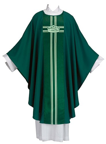 Christian Brands Church Supply YD921 51 in. Loaves & Fishes Chasuble by Christian Brands Church Supply