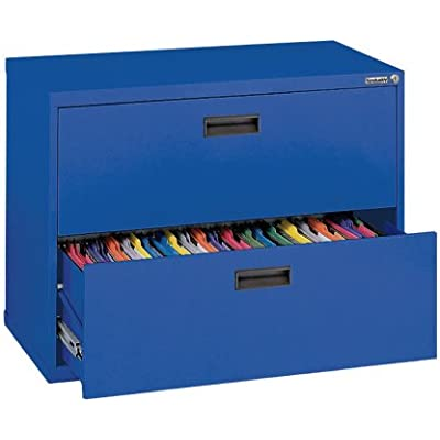sandusky-400-series-blue-steel-lateral