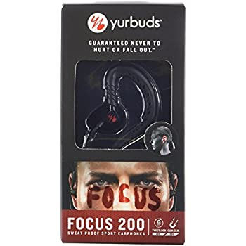 Yurbuds (CE) Focus 200 In-Ear Headphones, Black
