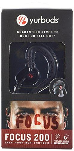 Yurbuds  Focus 200 In-Ear Headphones, Black