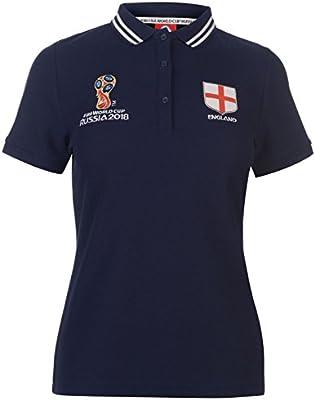 FIFA World Cup 2018 - Polo de Inglaterra para mujer, azul marino ...