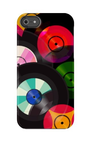 Uncommon - C0070-DS - Apple iPhone 5/5S Capsule Hülle in Playback Records
