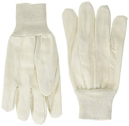 Wells Lamont Canvas Work Gloves, Standard Weight, Wearpower, Large, 3 Pack (48LF) ()