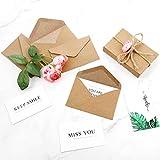 400 Packs Mini Kraft Paper Envelopes Gift Card