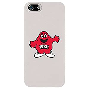Coveroo Western Kentucky Design Thinshield Snap-On Case for iPhone 5/5s - Retail Packaging - White