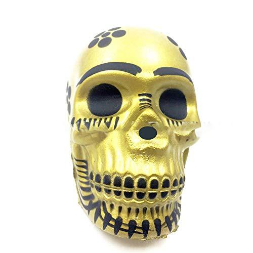 (NiceWave 1 Piece 7cm Squishy Skull Toy Squeeze Squishy slowdown Also Toy Decompression Halloween)