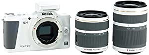 Kodak S-1 Black Pixpro Micro Mirrorless Digital Camera with 12-45mm Lens and 400mm Bonus Gift Lens