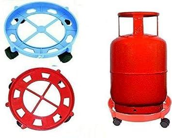 Karp Gas Cylinder Trolley with Wheels