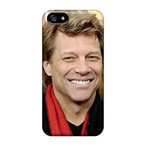 Protector Hard Phone Case For Iphone 5/5s (NTK2439lpoA) Custom High Resolution Bon Jovi Band Pattern