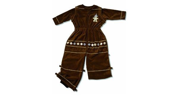 Saco de dormir para bebé Pichu con forro polar de bolsa de palos de 1,7 de cama de matrimonio de diseño para 12-36 más posibilidades sin fin Choco: ...