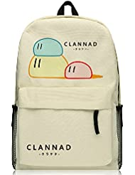YOYOSHome® Anime Clannad Cartoon Cosplay Rucksack Backpack School Bag