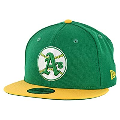 New Era Oakland Athletics 9FIFTY MLB Cooperstown Logo Pack Snapback Hat