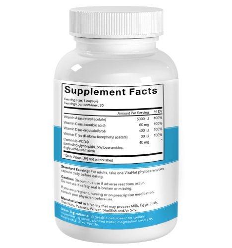 Prime Phytoceramides gélules de 350 mg. supplément gratuit Gluten de haute qualité.