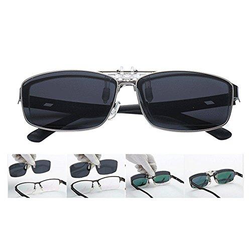 Lectura Anti Metálico Metal Reflejante Azul Conducir Rectangular Sol Portección Vintage Mujer Eyewear Hzjundasi Sunglasses Polarizadas Hombre UV400 de Gafas O7X6gq