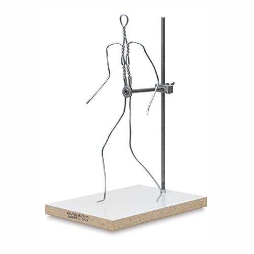Sculpture House Almaloy Wire Formica Bases full figure 12 in.