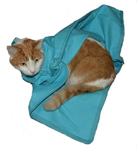 Cat-in-the-bag Cozy Comfort (E-Z Zip) Carrier Large, Light Blue