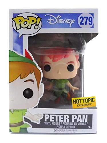 Funko Pop! Disney Classic Flying Peter Pan Hot Topic Exclusive