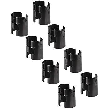 Amazon.com: Alera Wire Shelving Shelf Lock Clips, Plastic ...