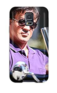 Best 2712289K62759843 Galaxy S5 Hard Back With Bumper Silicone Gel Tpu Case Cover Sylvester Stallone