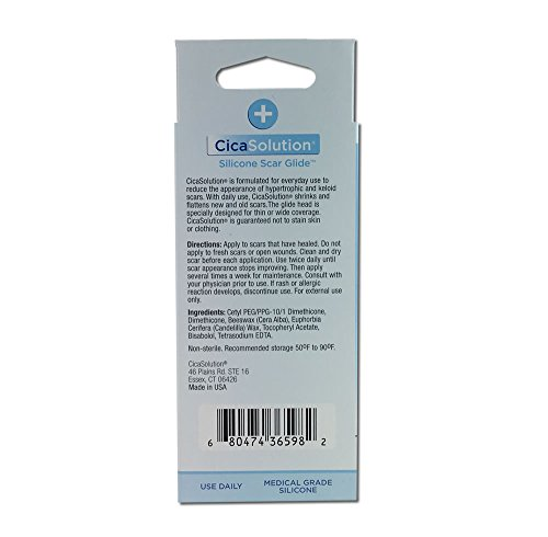 CicaSolution Scar Reducing Treatment for scars and wounds (Large 75g and 16g Travel size) by CicaSolution (Image #7)