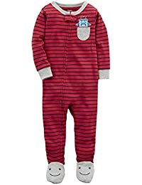 Baby Boys 2T-5T One Piece Dinosaur Snug Fit Cotton Pajamas
