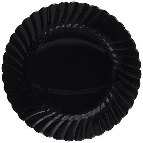 WNA 18 Count Classicware Plastic Fluted Plate, 7.5