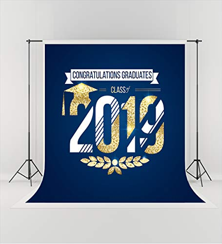 5ft(W) x7ft(H) Graduation Ceremony 2019 Photography Backdrops for