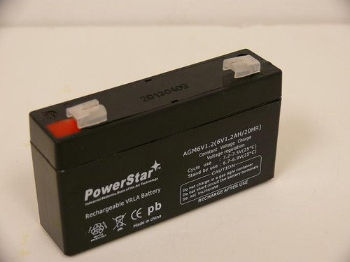 PowerStar-GE SIMON XT Sealed AGM 6V High Rate PowerStar Battery with 2 YEAR WARRANTY