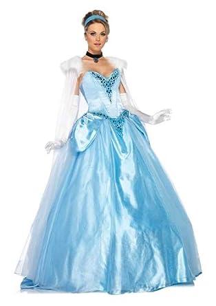 Amazon.com Leg Avenue Disney 6Pc. Deluxe Princess Cinderella Dress .  sc 1 st  Happyforest.info & Famous Princess Cinderella Wedding Dress Photo - Wedding Dresses and ...