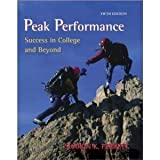 img - for Peak Performance: Success in College and Beyond by Ferrett, Sharon (2014) Paperback book / textbook / text book