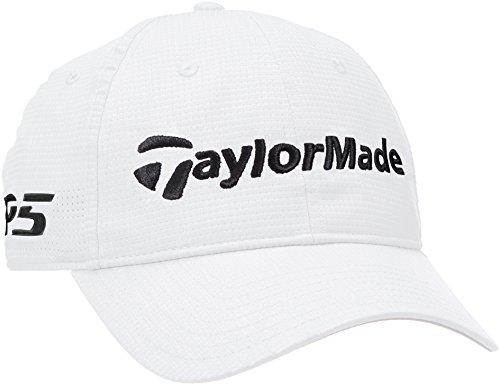 TaylorMade Golf 2018 Mens LiteTech Tour Adjustable Golf Cap White