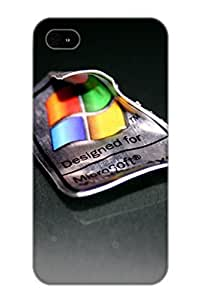 Fashionable Style Case Cover Skin Series For Iphone 4/4s- Microsoft Windows Xp Logo