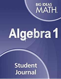 Amazon com: BIG IDEAS MATH Algebra 1: Common Core Student