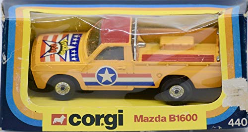 1979 - The Mettoy Ltd/Corgi - Item #440 - Mazda B1600 Pickup Truck - Collectible - Rare - OOP