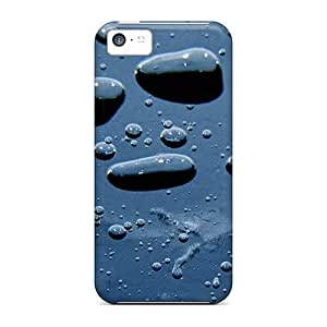 New Style Case Cover Water Drops Mt Compatible With Iphone 5c Protection Case