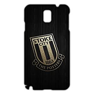 DIY Design FC Stoke City FC Team Logo Phone Case Cover For Samsung Galaxy Note 3 3D Plastic Phone Case