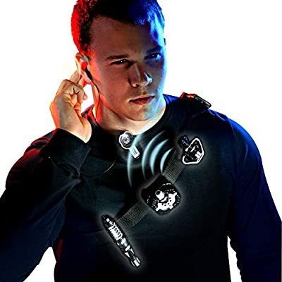 MUKIKIM SpyX / Micro Gear Set + Walkie Talkies - 4 Must-Have Spy Tools Attached to an Adjustable Belt + 2 Player Buddy Play Walkie Talkies! Jr Spy Fan Favorite & Perfect for Your Spy Gear Collection!: Toys & Games